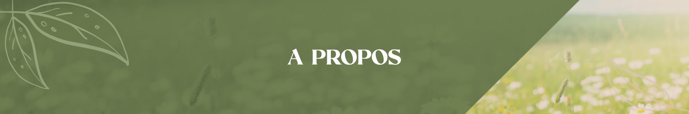 Campagne - Bannière A Propos