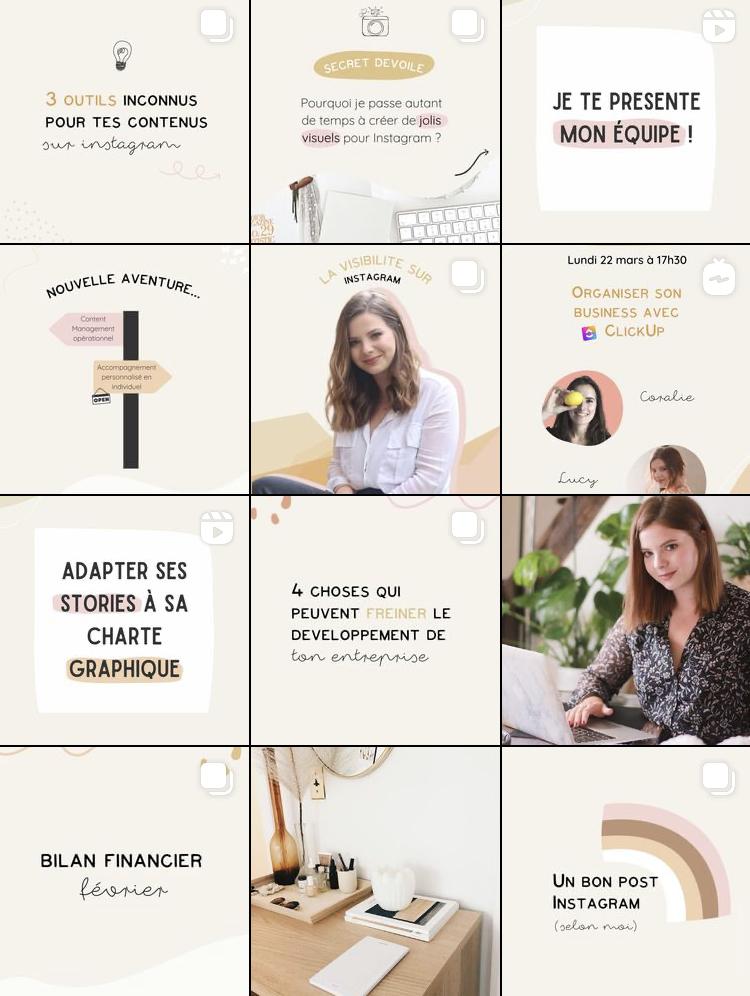 Compte Instagram Laminutelucy