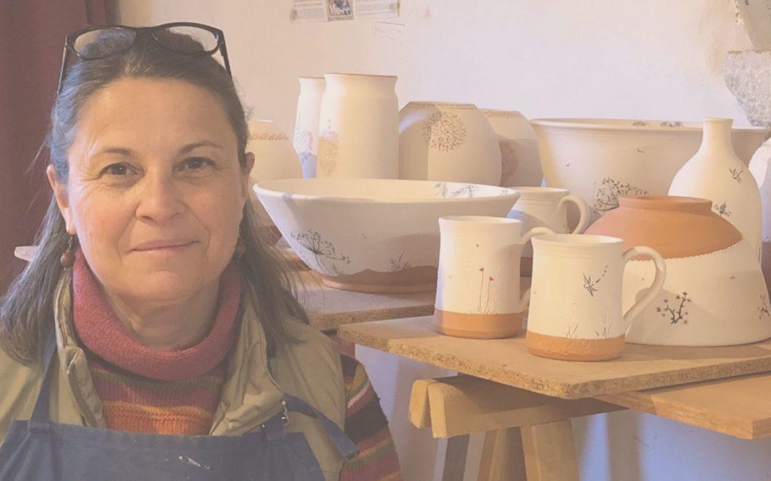 La poterie : une passion pour Anne, autodidacte, depuis plus de 20 ans.