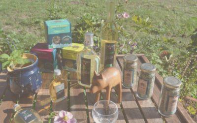 Le Sanglier Philosophe, des plantes aromatiques du champs à l'assiette !